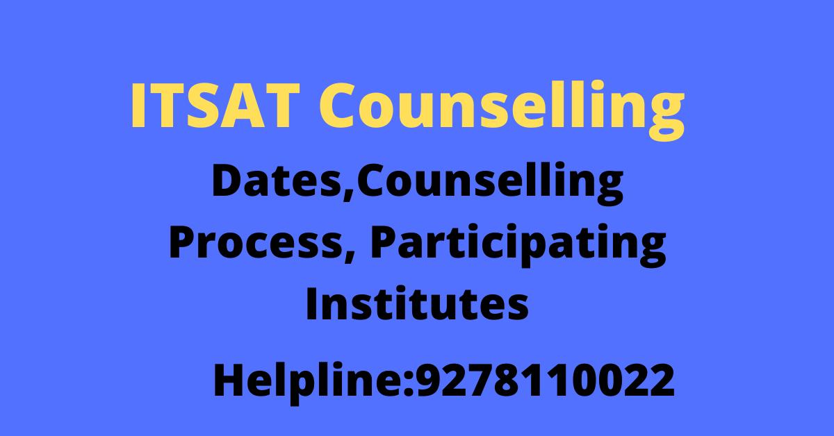 ITSAT Counselling