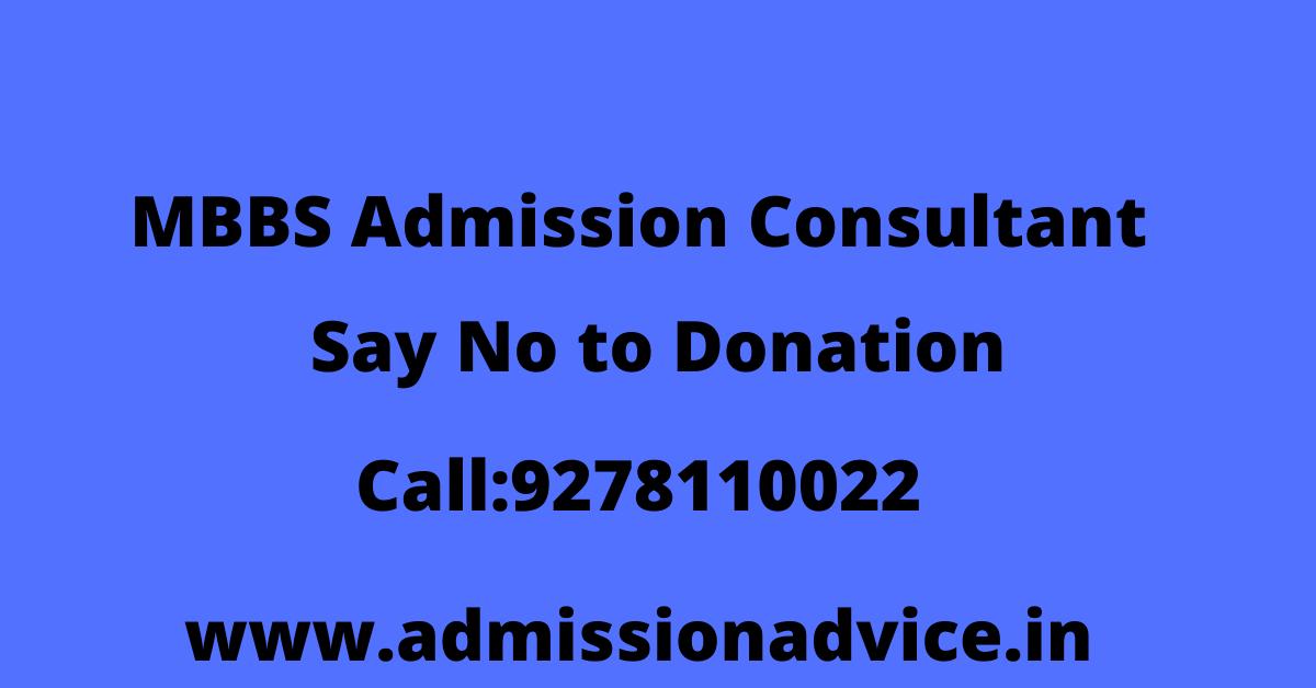 MBBS Admission Consultant